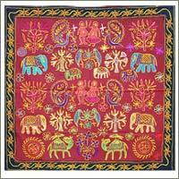 Cloth Wall Hangings fabric wall hanging in jaipur, rajasthan | suppliers, dealers