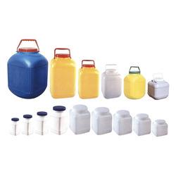 Plastic Square Jars