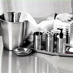 Steel Bathroom Set