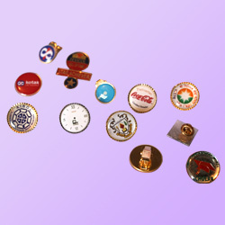2e0c615257c8 Manufacturer of Button Badges & Cufflink & Tie Pin by Etch Process ...