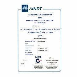 Non Destructive Testing Certification In Porur Chennai Quest
