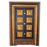 Carved Temple Door