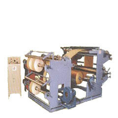 H.r. Paper Stainless Steel Flexo Printing Attached Slitting & Rewinding Machine, for Paper, Number Of Colors: Multiple