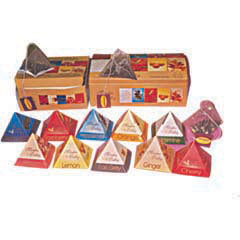 Pyramid Box For Tea Bag