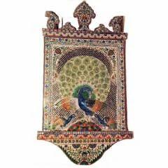 Handmade Glass Peacock