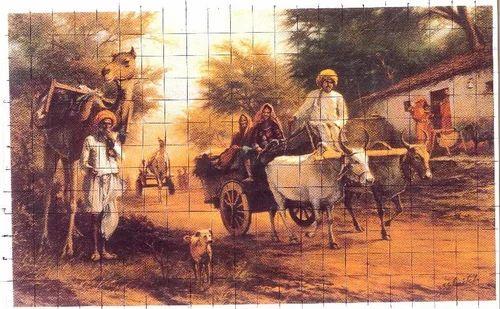 Rural Rajasthani Painting