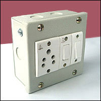 Steel Switch Box | Shri Engineering Co  | Exporter in