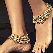 Artificial Gold Anklets