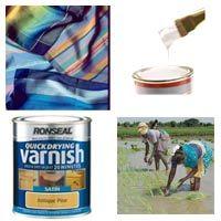 Textile / Paint / Varnish / Ink