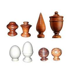 Decorative Finials And Poles