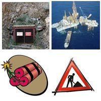 Oil / Gas / Mining / Marine / Explosives / Construction / Sewage - Effluent Treatment
