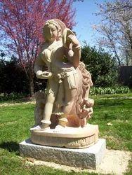 Stone Garden Sculpture