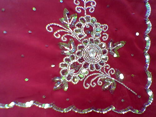 Sequin Embroidery Work Fabrics  View Specifications